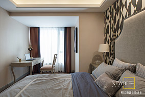 悠雅72平美式三居效果图片大全三居美式经典家装装修案例效果图