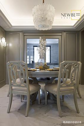 大气89平美式三居装修效果图三居美式经典家装装修案例效果图