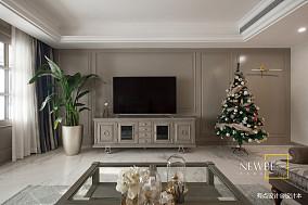 浪漫109平美式三居装修美图三居美式经典家装装修案例效果图