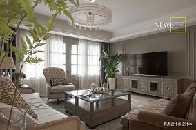 华丽82平美式三居实拍图三居美式经典家装装修案例效果图
