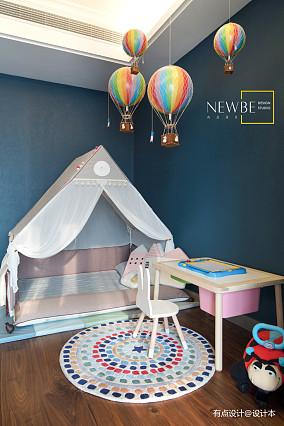 美式儿童房图片三居美式经典家装装修案例效果图