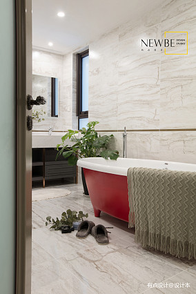 精美126平美式三居设计美图三居美式经典家装装修案例效果图