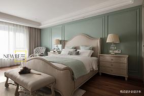 精美104平美式三居设计案例三居美式经典家装装修案例效果图
