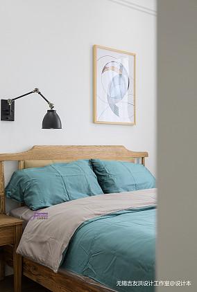 精美75平美式复式卧室装饰美图复式美式经典家装装修案例效果图