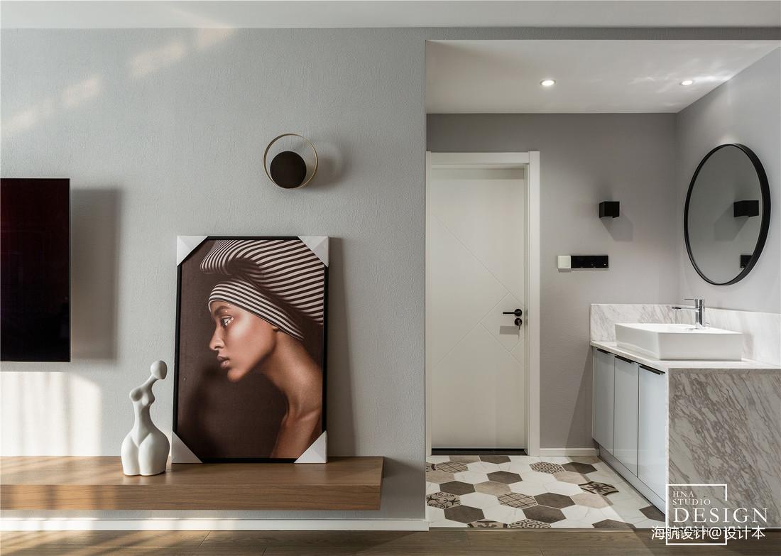 现代婚房卫浴设计图片卫生间现代简约卫生间设计图片赏析