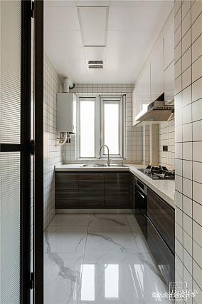 质朴148平现代四居厨房装修图片