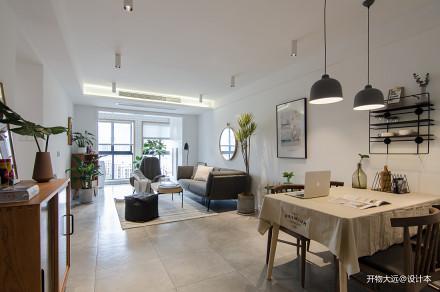 浪漫30平现代小户型客厅实景图片一居现代简约家装装修案例效果图