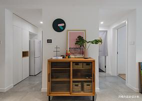 华丽36平现代小户型过道布置图一居现代简约家装装修案例效果图