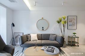 质朴20平现代小户型客厅设计效果图一居现代简约家装装修案例效果图