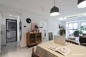 华丽21平现代小户型餐厅效果图片大全一居现代简约家装装修案例效果图