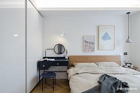 精致39平现代小户型卧室装修美图一居现代简约家装装修案例效果图