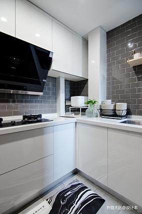 温馨25平现代小户型厨房装修图片一居现代简约家装装修案例效果图