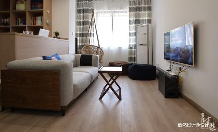 大气87平现代二居客厅装修案例