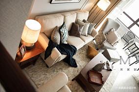 精致56平现代复式装修美图复式现代简约家装装修案例效果图