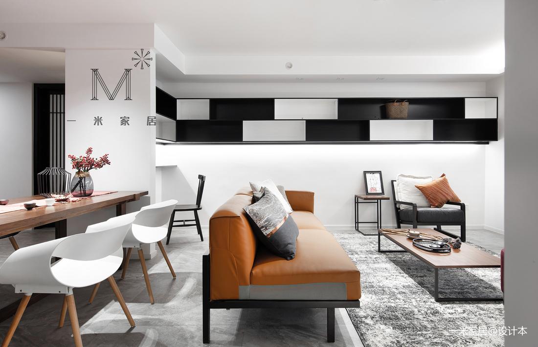 精致140平中式二居实景图片二居中式现代家装装修案例效果图