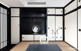 温馨72平中式二居装饰美图二居中式现代家装装修案例效果图
