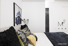 简洁66平中式二居装饰图二居中式现代家装装修案例效果图