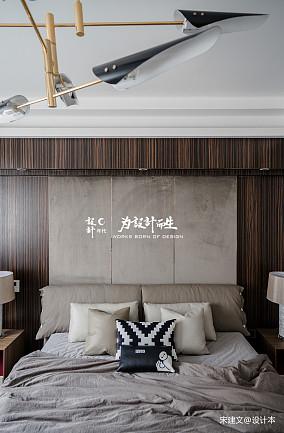 温馨387平现代别墅卧室装修设计图别墅豪宅现代简约家装装修案例效果图