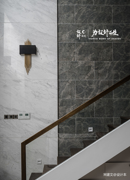 温馨289平现代别墅客厅案例图