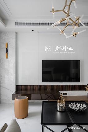 典雅798平现代别墅客厅装修美图别墅豪宅现代简约家装装修案例效果图