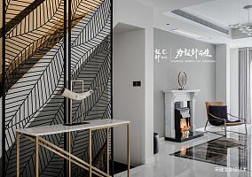 优美867平现代别墅玄关装修图片别墅豪宅现代简约家装装修案例效果图