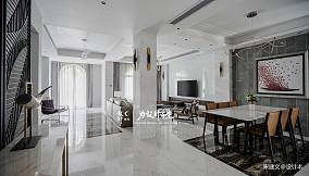 简洁841平现代别墅客厅案例图别墅豪宅现代简约家装装修案例效果图