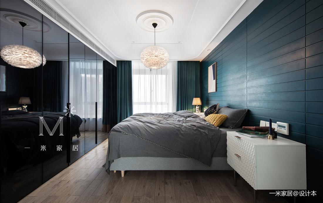 平现代三居美图三居现代简约家装装修案例效果图