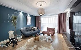 华丽97平现代三居布置图三居现代简约家装装修案例效果图