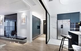 悠雅94平现代三居装饰图片三居现代简约家装装修案例效果图