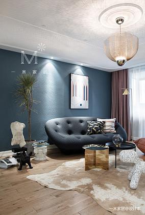 精致95平现代三居效果图片大全三居现代简约家装装修案例效果图