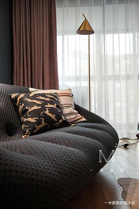 明亮96平现代三居装修图家装装修案例效果图