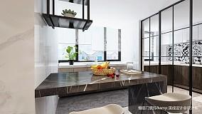 简洁49平简约复式设计效果图复式现代简约家装装修案例效果图