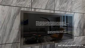 典雅44平简约复式客厅设计美图复式现代简约家装装修案例效果图
