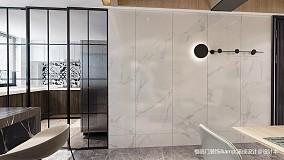 大气61平简约复式餐厅装修美图复式现代简约家装装修案例效果图