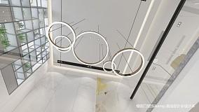 大气82平简约复式效果图欣赏复式现代简约家装装修案例效果图