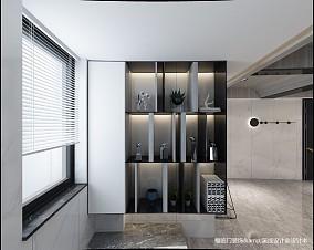 平简约复式玄关效果图欣赏复式现代简约家装装修案例效果图