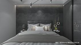 平简约复式卧室图片大全复式现代简约家装装修案例效果图