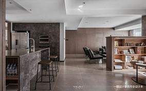 质朴140平现代二居客厅装修设计图