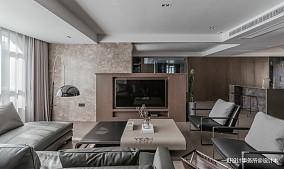 质朴64平现代二居客厅效果图