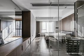 华丽51平现代二居卧室装修装饰图