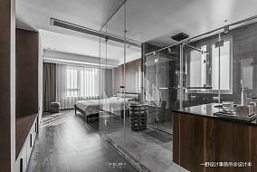 201965平现代二居卧室实景图片