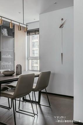 简洁55平现代二居餐厅效果图欣赏