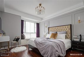 明亮106平美式三居卧室效果图欣赏