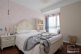 简洁81平美式三居儿童房设计图