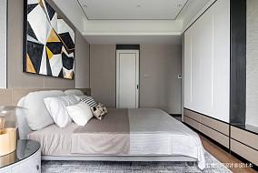质朴147平简约四居卧室装修设计图