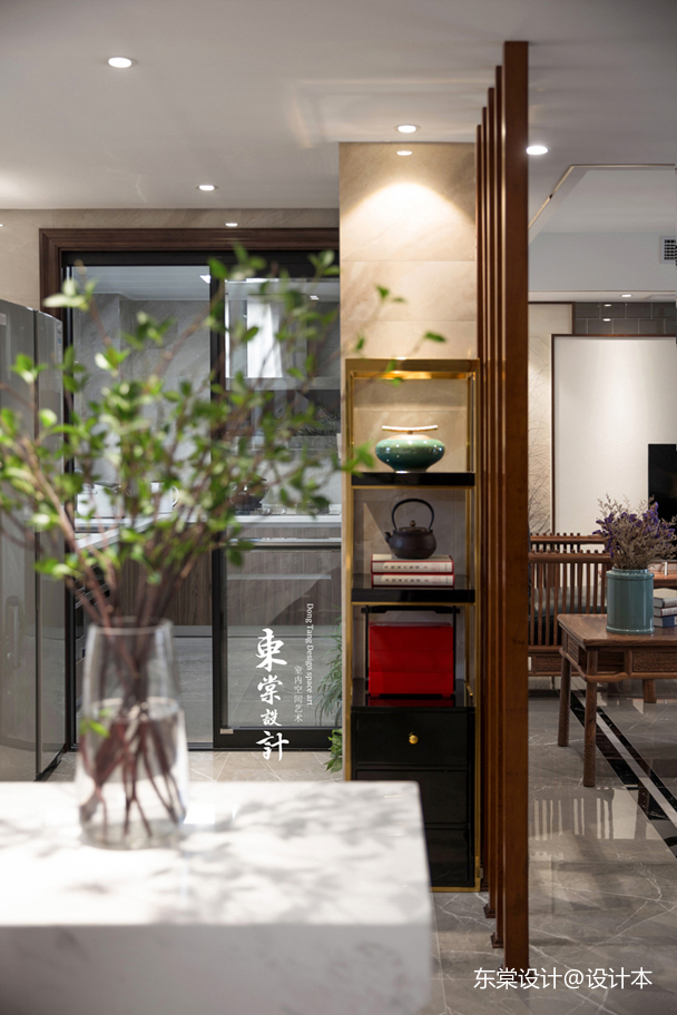 悠雅576平中式别墅厨房装修效果图餐厅中式现代厨房设计图片赏析