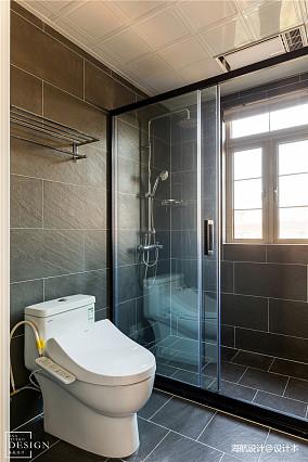 优美115平现代三居卫生间装修装饰图