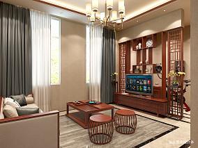 大气621平中式别墅休闲区实景图片别墅豪宅中式现代家装装修案例效果图