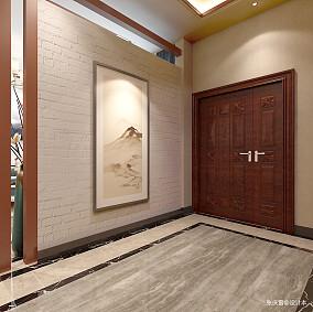 优雅856平中式别墅玄关装修设计图别墅豪宅中式现代家装装修案例效果图