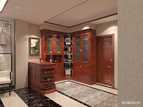 精致886平中式别墅装修设计图别墅豪宅中式现代家装装修案例效果图